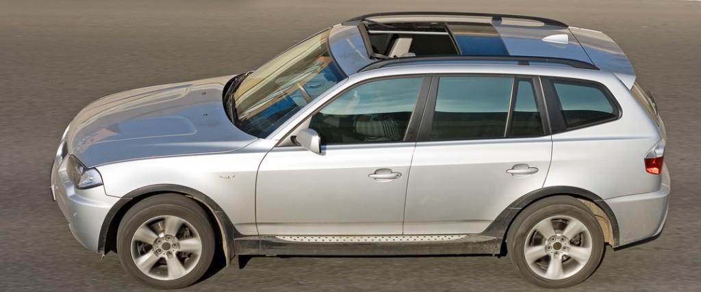 BMW Geländewagen von oben
