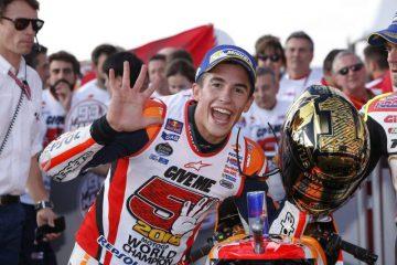 Marc Marquez ist MotoGP Weltmeister 2016!